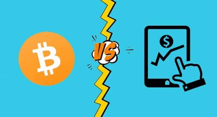 Bitcoin ou ações